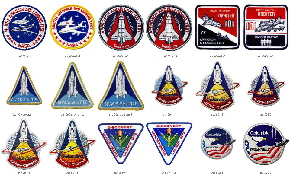 space shuttle mission logos - photo #5