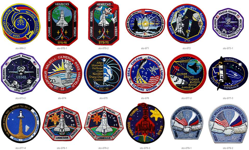NASA Mission Badges - Pics about space