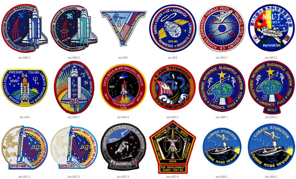 NASA Space Mission Badges - Pics about space