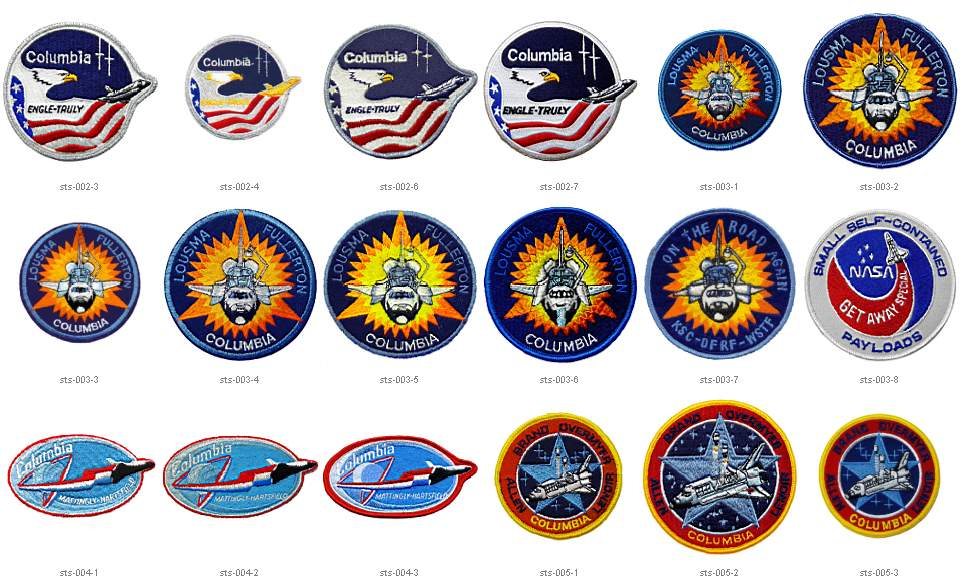 space shuttle mission logos - photo #34