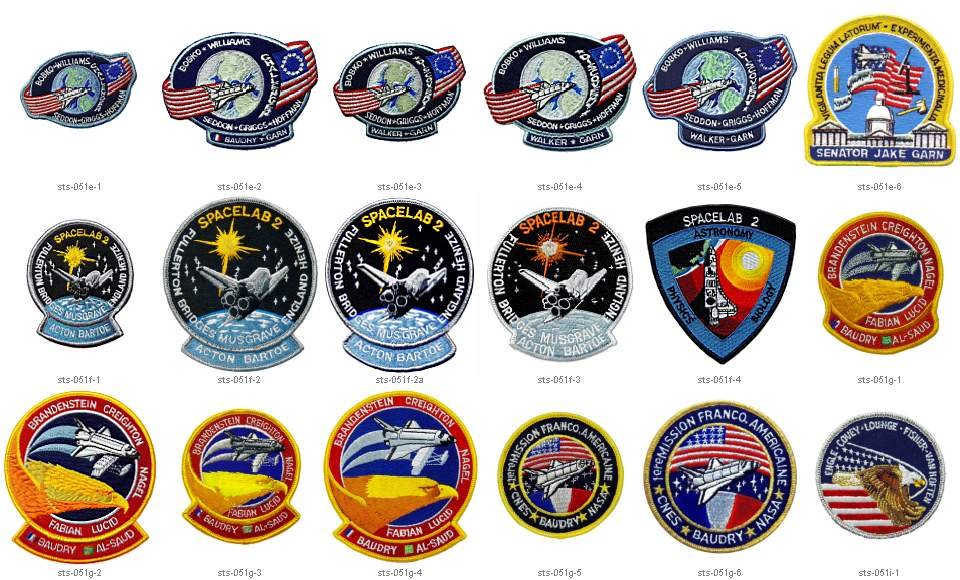 space shuttle mission badges - photo #34